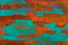 o. T. - Acryl auf Leinwand - 90/70 cm - 2008