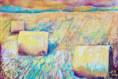 Sonnenwende - Acryl auf Leinwand - 120/160 cm - 2016