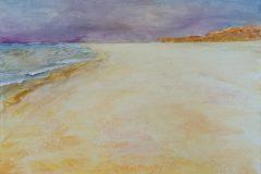 Sylter Impressionen II (Strand) - Acryl auf Leinwand - 30/40 cm - 2017