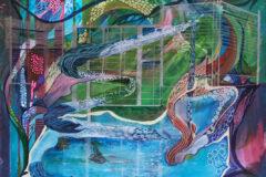 Träume von einem Tag in der Therme - Feinschicht-Aquarell